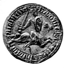 Baldwin I (1172 – c1205), son of Baldwin V of Hainaut & Margaret I, Countess of Flanders. 1st Emperor of the Latin Empire of Constantinople, Count of Flanders & Hainaut, was one of the most prominent leaders of the catastrophic 4th Crusade, which resulted in the sack of Constantinople and the conquest of large parts of the Byzantine Empire. He married Marie of Champagne - her maternal grandparents were Louis VII of France and Eleanor of Aquitaine.