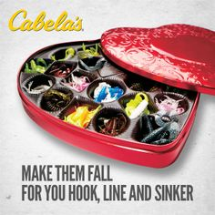 Hook your sweetheart with the perfect gift.