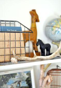 Industrial Wire Basket DIY