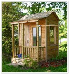 How to Build Small Outdoor Storage Shed - front yard landscaping ideas Storage Sheds For Sale, Outdoor Storage Sheds, Storage Shed Plans, Small Storage, Storage Ideas, 10x12 Shed Plans, Wood Shed Plans, Shed Landscaping, Backyard Sheds