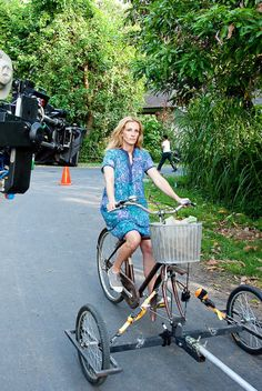 Julia Roberts on the set of Eat Pray Love, 2010