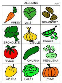 Pro Šíšu: OVOCE-ZELENINA Preschool Themes, Pictogram, Baby Time, Book Activities, Montessori, Language, Teaching, Education, Children