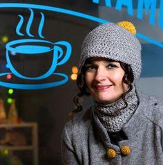 Virkkaa Rosina Rusinan kauluripipo | ET Knit Crochet, Crochet Hats, Diy Projects To Try, Winter Hats, Beanie, Textiles, Knitting, Crocheting, Teen