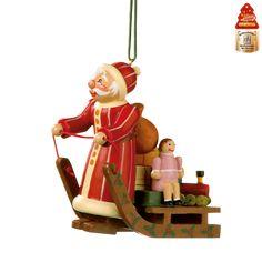 Weihnachtswelt Weihnachtsmann mit Schlitten