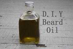 D.I.Y Beard Oil