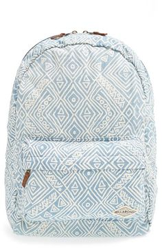 Billabong Hand Over Love Backpack available at Nordstrom Billabong Backpack, Vans Backpack, Tactical Backpack, Backpack Bags, Beach Backpack, Cute Backpacks For School, Cool Backpacks, College Backpacks, Bags