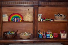 block area, loose part play, grimm blocks, rainbow blocks, wooden cars and trucks, reggio inspired, play based preschool