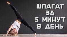 Как сесть на шпагат за 5 минут? Комплекс упражнений [Workout | Будь в фо...