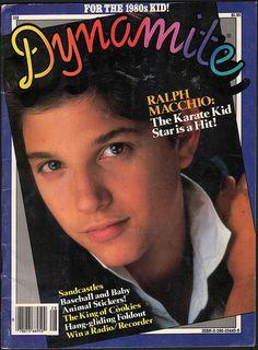 Ralph Macchio: The Karate Kid Star is a Hit! The Karate Kid 1984, Kid Cobra, 1980s Kids, Ralph Macchio, Kids On The Block, Magazines For Kids, Teenage Years, Classic Tv, The Good Old Days