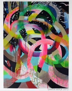 Maya Hayuk - Multi Versus / Cooper Cole Gallery