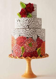 Amazing Wedding Cake - Uniquely Yours Bridal Showcase LOVES!