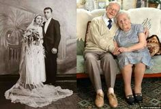 """"""" Hey Marie -Look at this couple -been married 81 years 💖💙💑💏👫Aww how lovely 💋"""" Growing Old Together, Old Couples, Silly Faces, People Fall In Love, Still In Love, Les Sentiments, Just Friends, Faith In Humanity, Forever Young"""