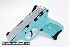 Tiffany Blue Ruger LC9 9mm duracoat Tiffany Blue and silver