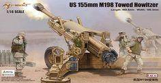 1:16 US M198 155mm Towed Howitzer - Modelling | Hobbyland