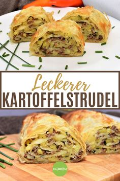 Delicious potato strudel - BallesWorld - An excellent potato strudel is simply explained in a step-by-step guide and is therefore guaranteed -