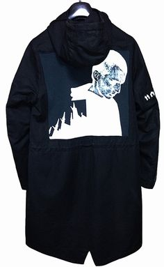 "RAF SIMONS, A/W 05-06 ""All Shadows & Deliverance"" PARKA."