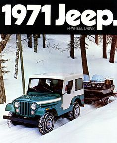 Old jeep ad