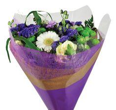 Krafty Mesh Sleeve   BOPP   Available sizes: 50x35x10cm & 50x44x12,5cm   Available colors: Basil, Golden Tickseed,  Pumpkin, Red, Blossom & Dark Lavender