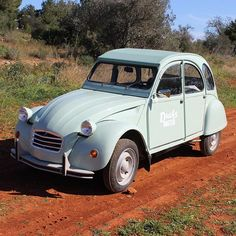 #my #carrental #collection #citroen #2cv #car #cool #ibiza #ducksunited #charity