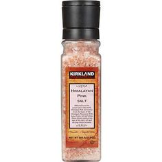 Kirkland Signature Himalayan Pink Salt, 13 oz Adjustable Grinder Kosher Parve 13 oz Plastic Jar with Built-in Grinder Pink Sea Salt, Himalayan Pink Salt, Costco Business, Smart Snacks, Pink Sale, Fish Salad, Eat Right, At Least