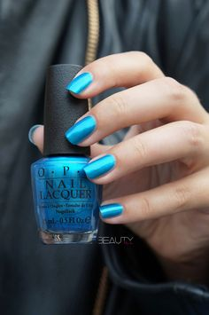 OPI Venice the Party? Nails 2015, Nail Colors, Colours, Nail Polish Designs, Tiffany Blue, Manicures, Nail Inspo, Red Lips, Dark Red