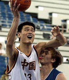 Yao Ming - eww gross