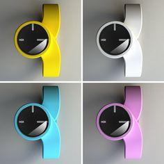 Funky And Ergonomic Hoi Watch