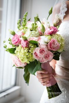 pink blush ranunculus hydrangeas - Google Search