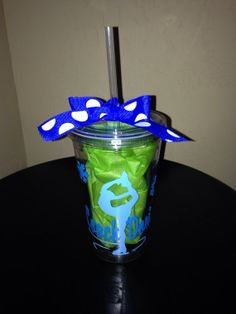 Great Teacher/coach gift idea! Personalized Ice Skater Tumbler Coach Gift by SwirlyTwirlyDesigns, $12.00