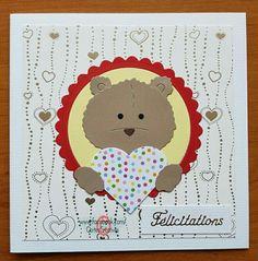 Bear Card, Snoopy, Teddy Bear, Baby, Fictional Characters, Tags, Bears, Cards, Birthday