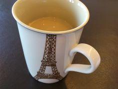 coffee break with the Eiffel mug