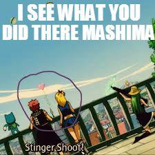 You sneaking Mashima. We see...