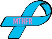 MTHFR awareness ribbon