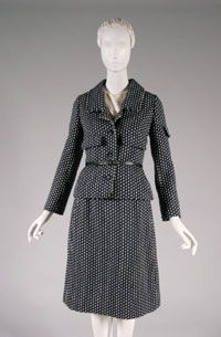 Philadelphia Museum of Art - Collections Object : Woman's Suit: Jacket, Skirt, Blouse, and Two Belts