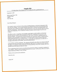25 Engineering Cover Letter