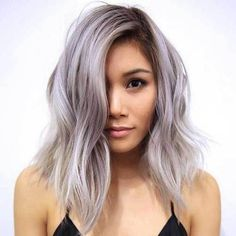 10 Chic and Sexy Short Hairstyles: #6. Short Pastel Silver Haircut