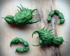 How to sculpt crab legs and pincers - Tutorial