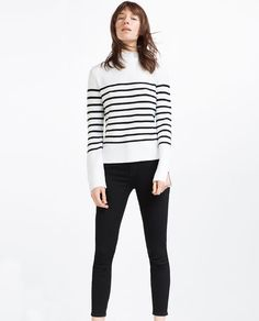 ZARA - WOMAN - STRIPED SWEATER