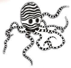 Tim Burton's Pet Octopus