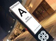 a39cffabf6743 ILUSTRE IDEIA BarraShopping   New York City Center  Wayfinding  Signage   EnvironmentalGraphicDesign  EGD