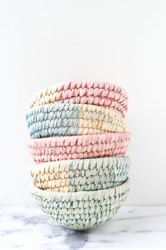 10 Minute DIY to Try: Dip Dyed Woven Baskets | Paper and Stitch