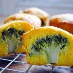 Broccoli Cheese Mini Cakes, plus many more muffin tin recipes Muffin Tin Recipes, Good Food, Yummy Food, Healthy Food, Healthy Eating, Broccoli And Cheese, Broccoli Bites, Steamed Broccoli, Broccoli Cheddar