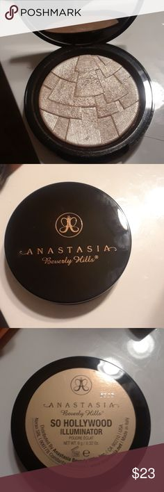 Anastasia Beverly H Illuminator (@utrendit) New. Has been swatched only. So Hollywood  Illuminator Anastasia Beverly Hills Makeup Luminizer