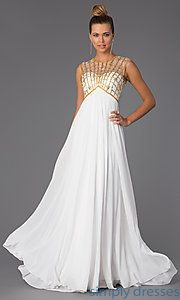 Buy High Neck Floor Length Prom Dress at SimplyDresses