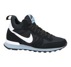 Nike Internationalist mid zwarte hoge sneakers