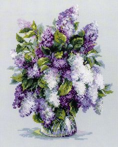 Riolis Gentle Lilac Counted Cross Stitch 32.99 ... Joann Fabric & Craft Store