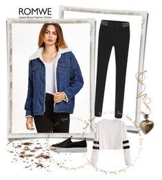 """""""Romwe 3/X"""" by nermina-okanovic ❤ liked on Polyvore featuring romwe"""