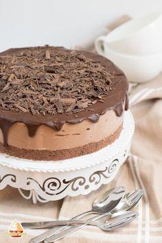 Philadelphia Torte Rezept mit Keksboden - VanilleTanz