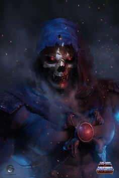 Skeletor – Masters of the Universe fan art by Edgar Gómez Master Of The Universe, Universe Art, Dark Fantasy Art, Dark Art, Comic Books Art, Comic Art, Comic Pics, He Man Thundercats, Ulysse 31