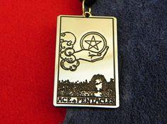Amulet  Tarot Card Ace of Pentacles